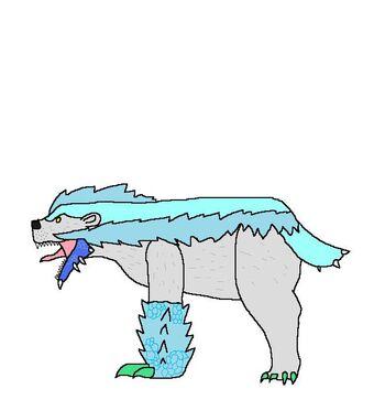 Arzorus clipart clipart freeuse library Polar Arzuros | Monster Hunter Fanon | FANDOM powered by Wikia clipart freeuse library