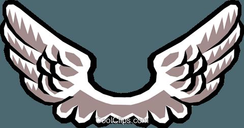 Asa de anjo clipart image royalty free library As asas de anjo livre de direitos Vetores Clip Art ilustração ... image royalty free library