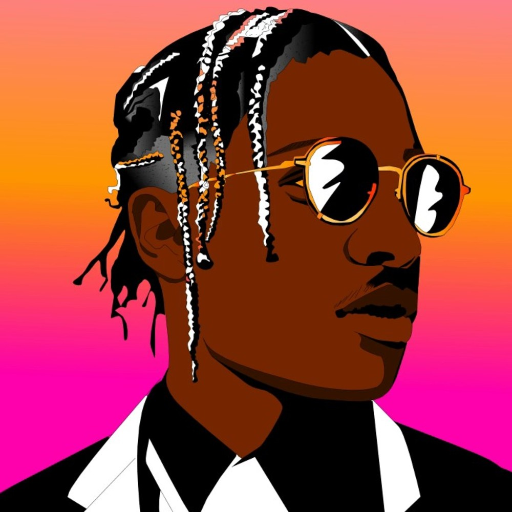 Asap cartoon clipart image black and white Asap Rocky Clipart Hd & Free Clip Art Images #35694 - Clipartimage.com image black and white