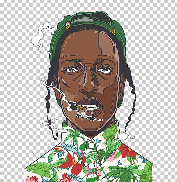 Asap cartoon clipart graphic download A Rocky ASAP Mob Art Hip Hop Music PNG, Clipart, Aap Ferg, Aap Rocky ... graphic download