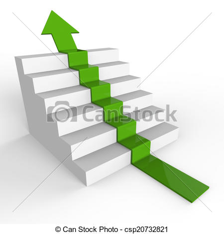 Ascending arrow clipart graphic free library Clip Art of Win Arrow Shows Upwards 1St And Ascend - Growth Stairs ... graphic free library