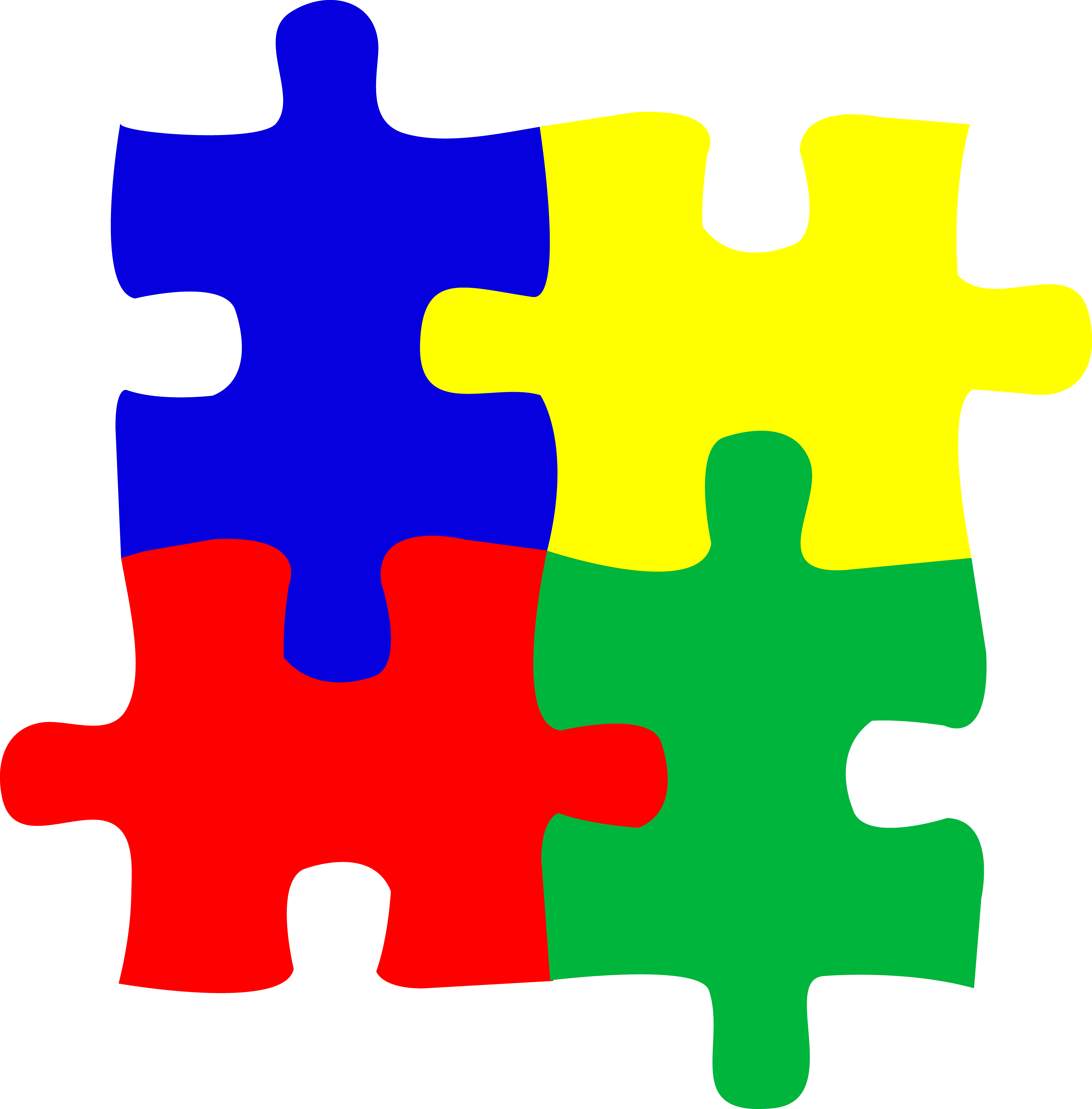 Free autism puzzle piece clipart clipart black and white library Puzzle Clipart Images | Clipart Panda - Free Clipart Images ... clipart black and white library