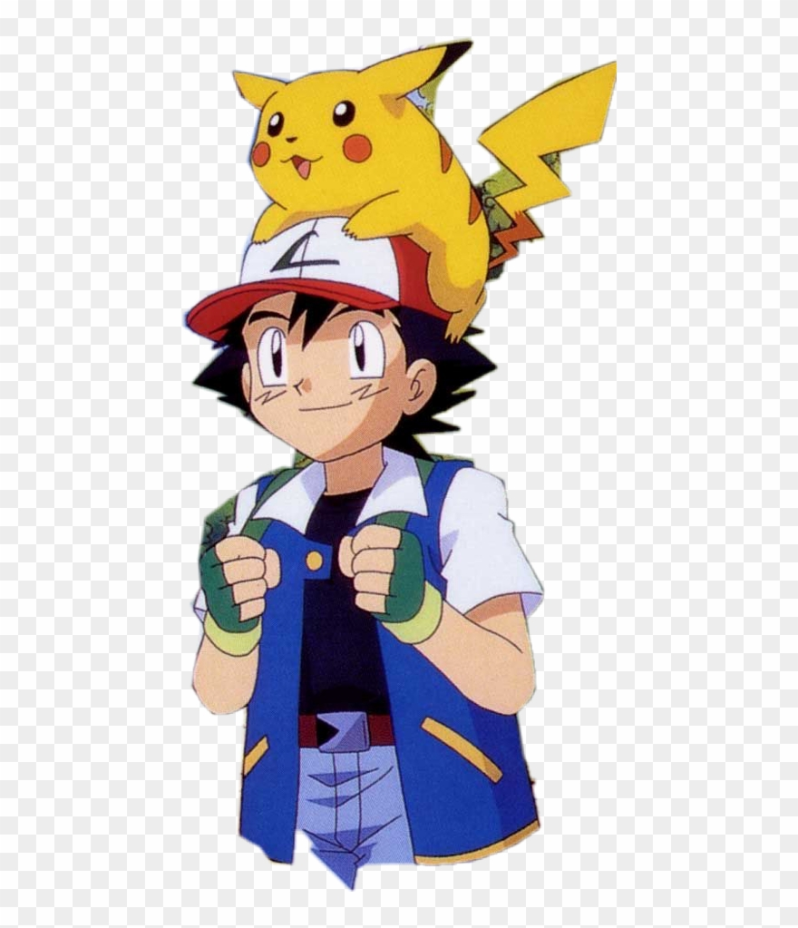 Ash and pikachu clipart picture transparent download Ash Ketchum With Pikachu Clipart (#1828002) - PinClipart picture transparent download