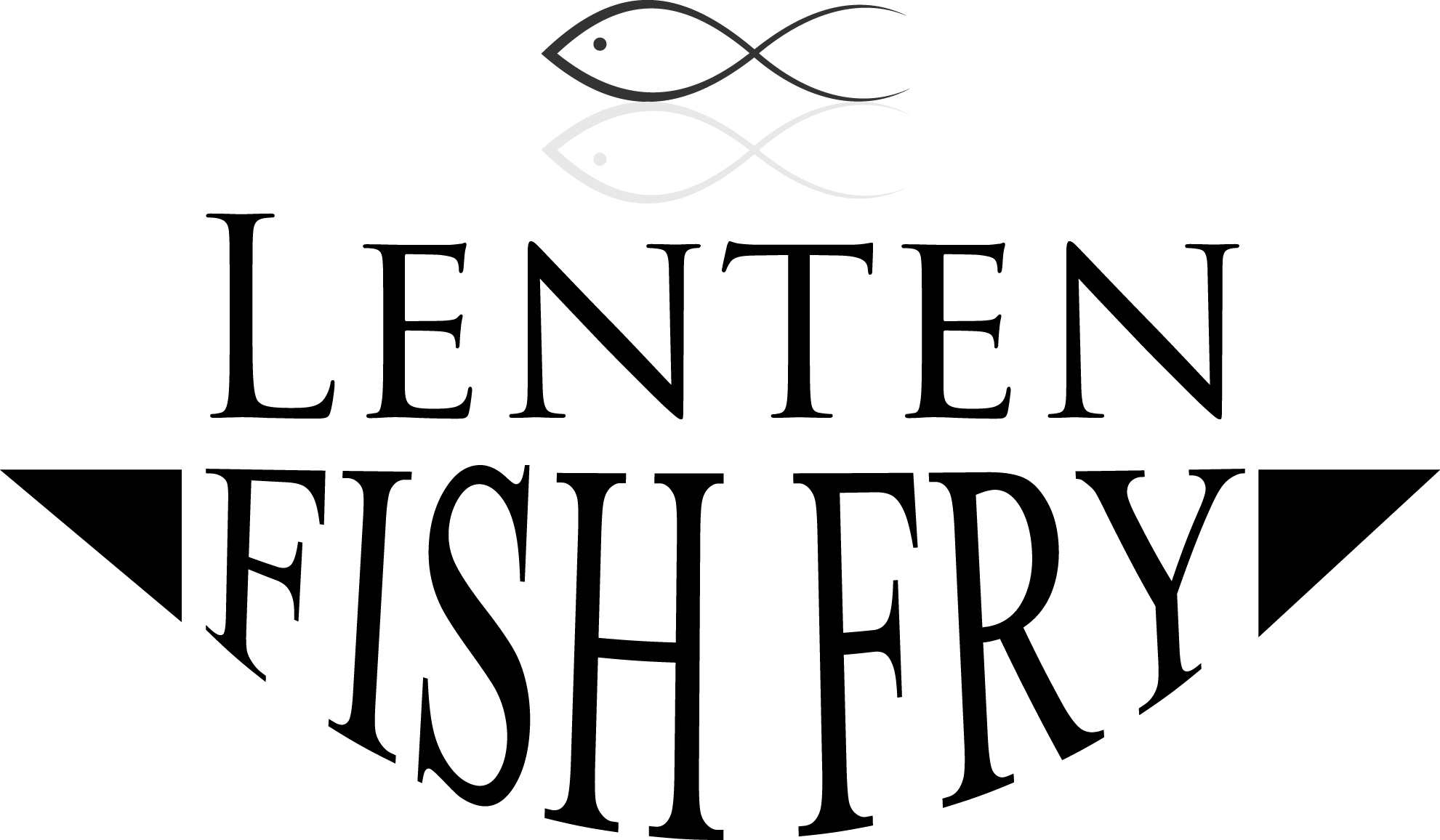 Lff the church of. Fish fry tilapia clipart black and white