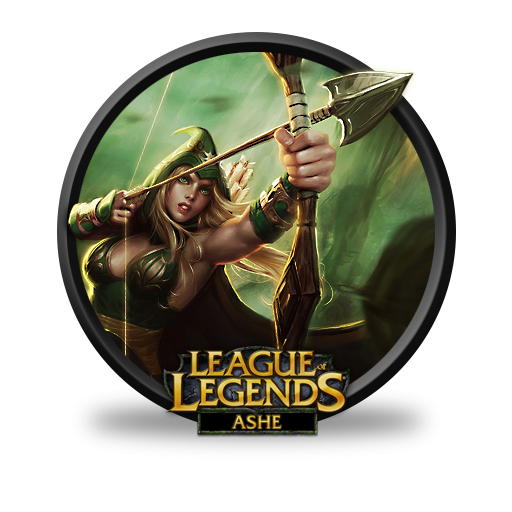 Ashe clipart jpg royalty free download League Of Legends Ashe Sherwood Forest Icon, PNG ClipArt Image ... jpg royalty free download