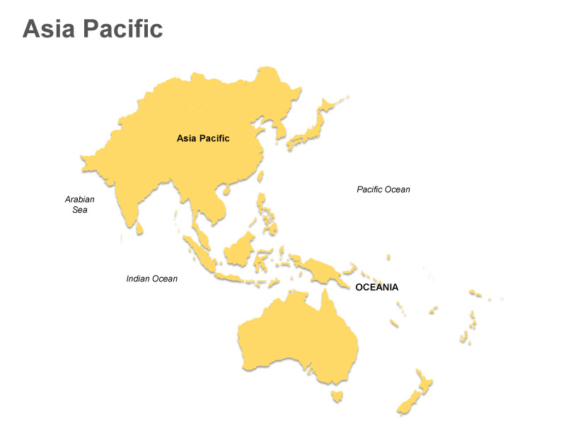 Asia pacific clipart image Printable Map Of Asia PacificAbikoya.com | Abikoya.com image