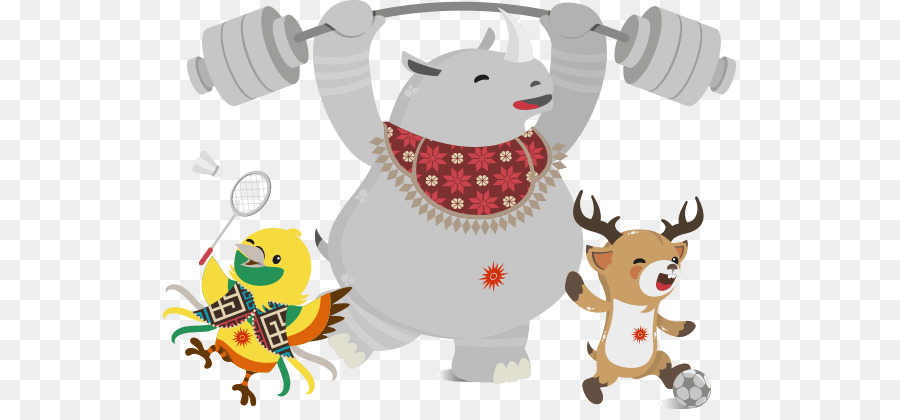 Christmas clipart for asian graphic freeuse stock Cartoon Christmas clipart - Deer, Reindeer, Cartoon, transparent ... graphic freeuse stock