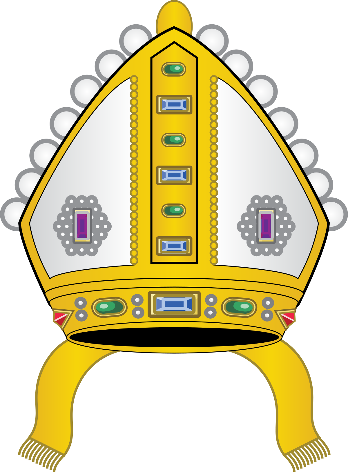 Pass on the crown clipart clip freeuse library Mitre - Wikipedia clip freeuse library
