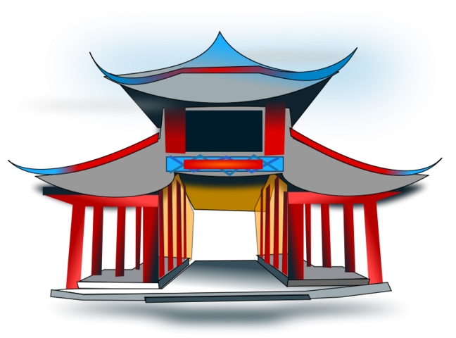 Asian crown clipart graphic transparent download Free Chinese Architecure PSD files, vectors & graphics - 365PSD.com graphic transparent download