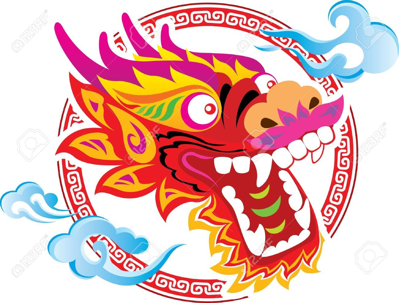 Asian dragon clipart png free Oriental dragon clipart - Clipart Collection | Asian dragon clipart ... png free