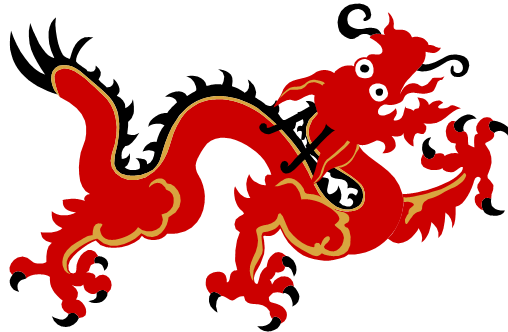 Asian dragon clipart svg black and white Chinese Dragon PNG Transparent Images | PNG All svg black and white