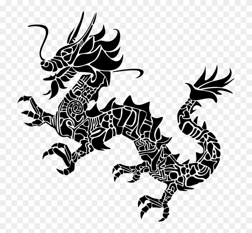 Asian dragon clipart picture download Medium Image - Asian Dragon Png Logo Clipart (#3469673) - PinClipart picture download