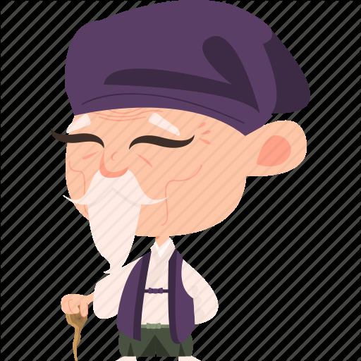 Asian elderly clipart clip freeuse library Man Cartoon clipart - Man, Nose, Hat, transparent clip art clip freeuse library