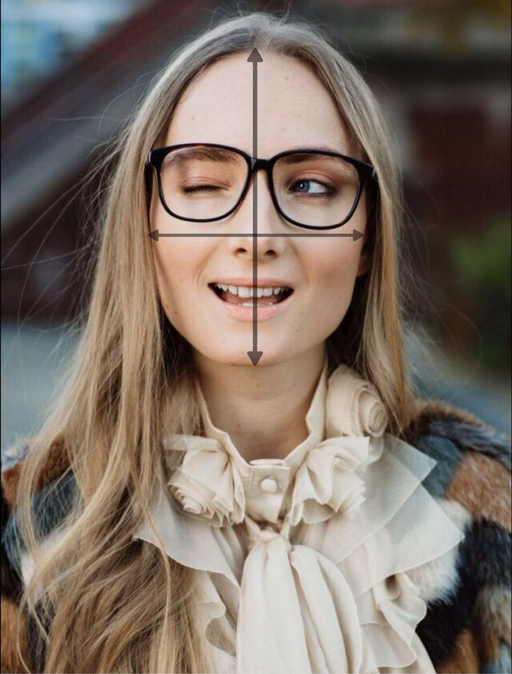 Asian face with glasses clipart banner transparent Eyewear Face Shape Guide: What Glasses & Sunglasses Fit Your Face ... banner transparent