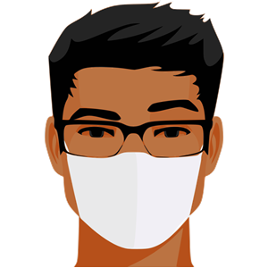 Asian face with glasses clipart banner stock Man in a Mask clipart, cliparts of Man in a Mask free download (wmf ... banner stock