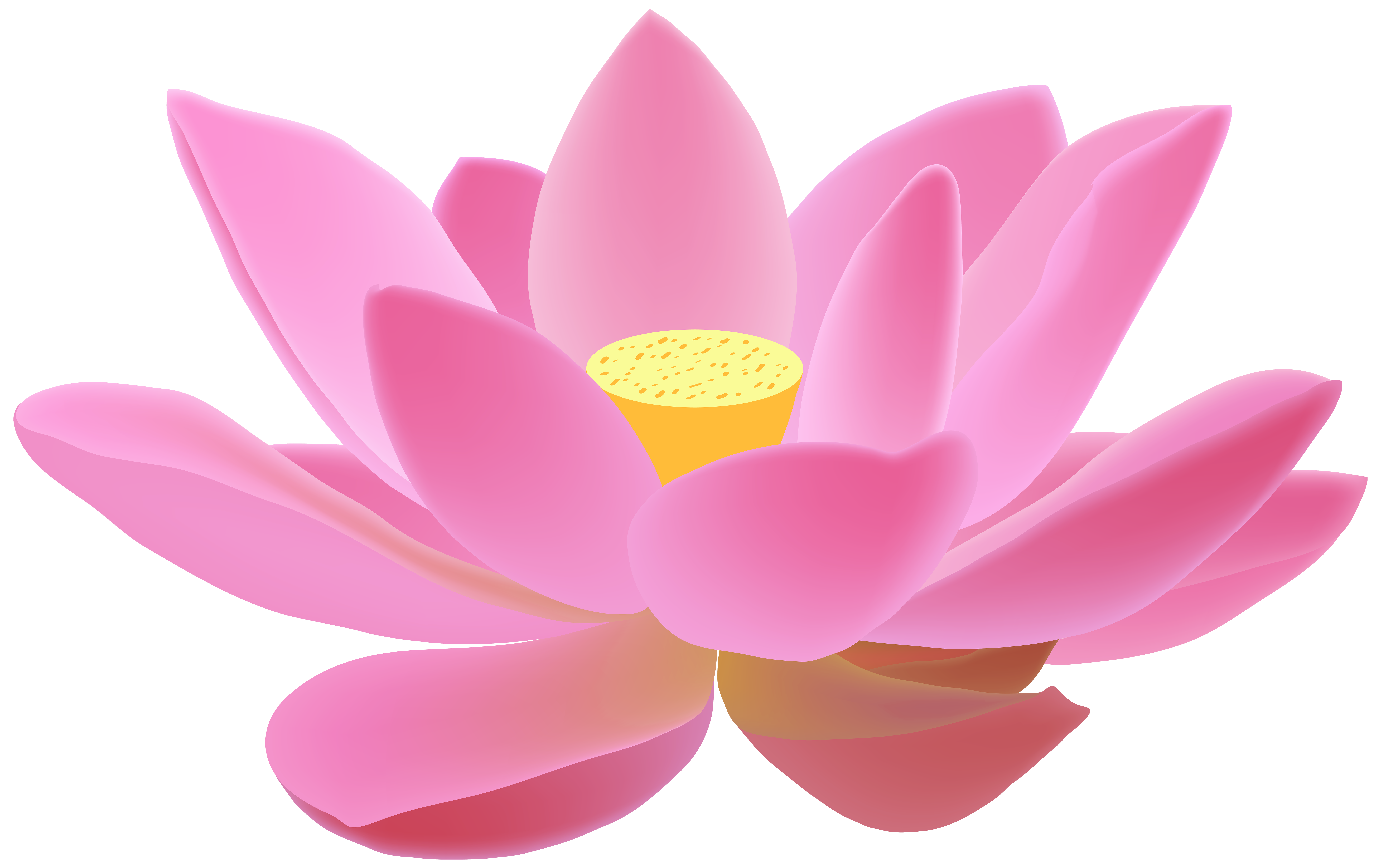 Lotus flower clipart free clipart transparent library Lotus Free PNG Clip Art Image | Gallery Yopriceville - High-Quality ... clipart transparent library