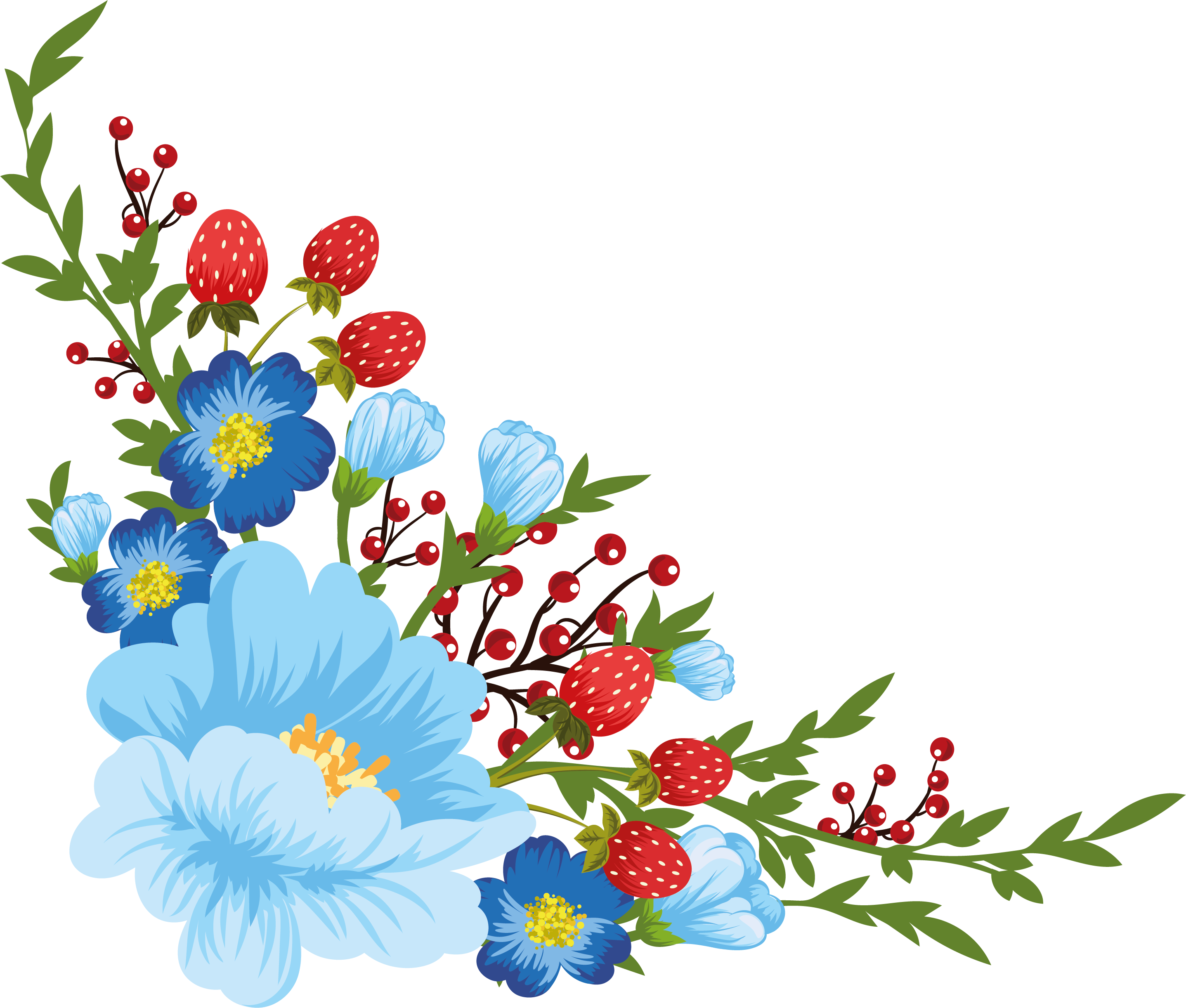 Flower spray clipart clip royalty free download beautiful flowers | My Decoupage Design | Pinterest | Beautiful ... clip royalty free download