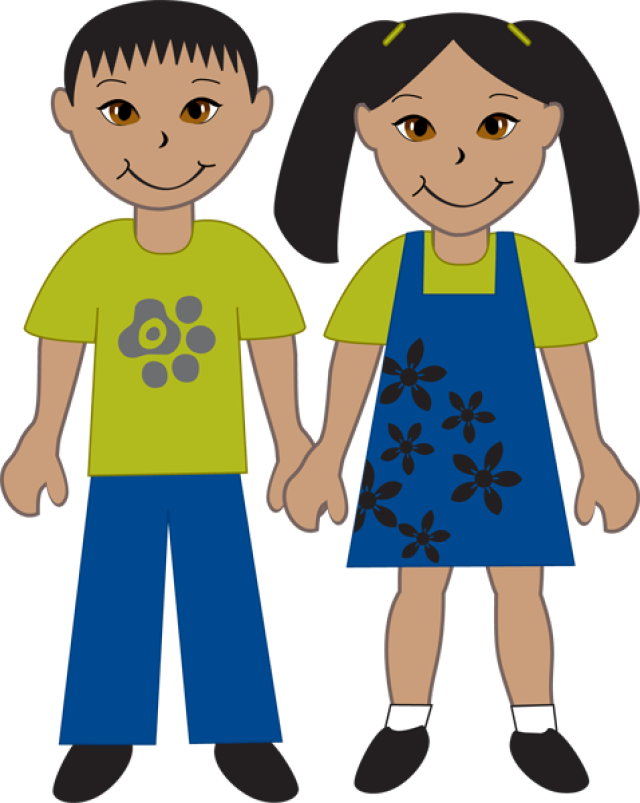 Indian boy and girl clipart vector freeuse library Free Asian Person Cliparts, Download Free Clip Art, Free Clip Art on ... vector freeuse library