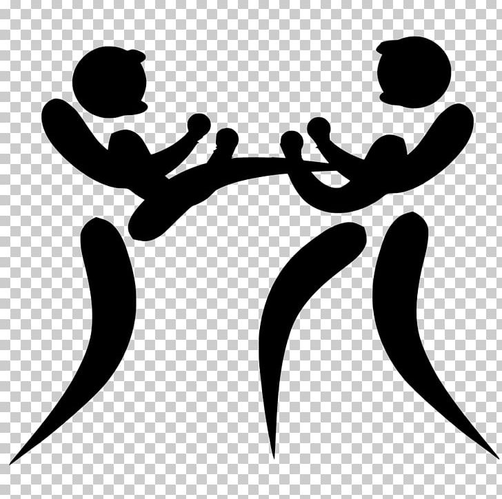Asian martial arts clipart black and white banner freeuse stock Kickboxing At The 2007 Asian Indoor Games Pictogram Sport PNG ... banner freeuse stock