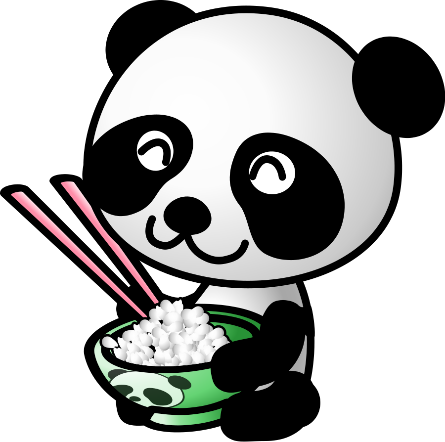 Asian panda mom with baby panda clipart picture clipart black and white library Baby Panda Clipart | Free download best Baby Panda Clipart on ... clipart black and white library