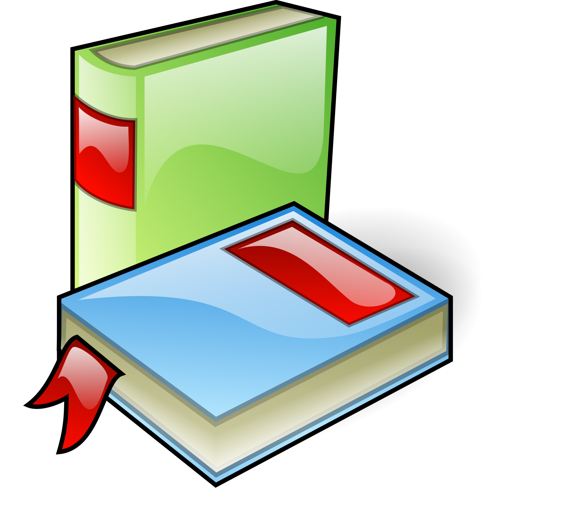 Book clipart icon clipart library stock File:Books-aj.svg aj ashton 01.svg - Wikimedia Commons clipart library stock