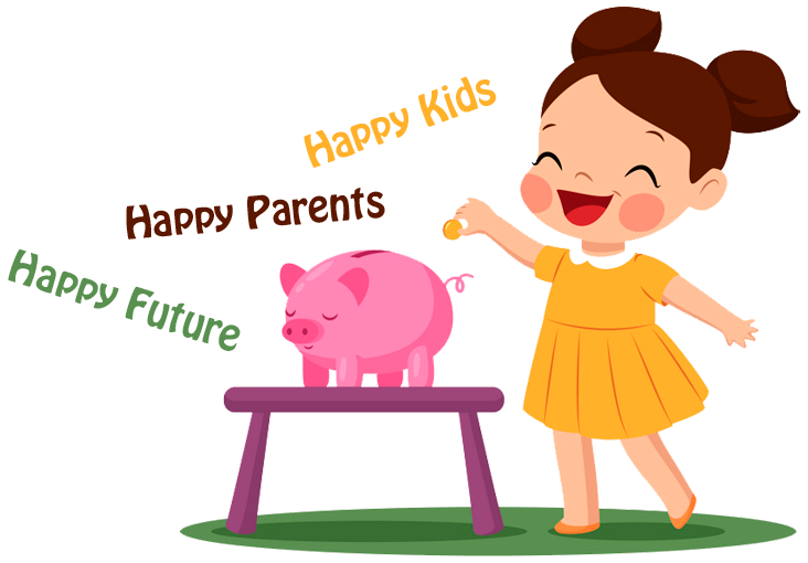 Kids earn money clipart vector royalty free stock Our Family vector royalty free stock