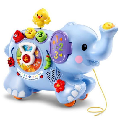 Ask for toy clipart jpg black and white stock Pull & Discover Activity Elephant jpg black and white stock