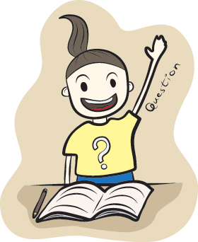 Ask my teacher clipart picture freeuse library New Semester, New Me?   Building My Steps to Academic Success ... picture freeuse library