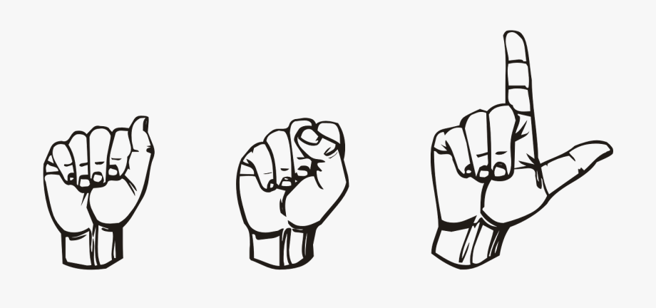 Asl children clipart download Asl Stands For American Sign Language And Is The Predominant - Art ... download