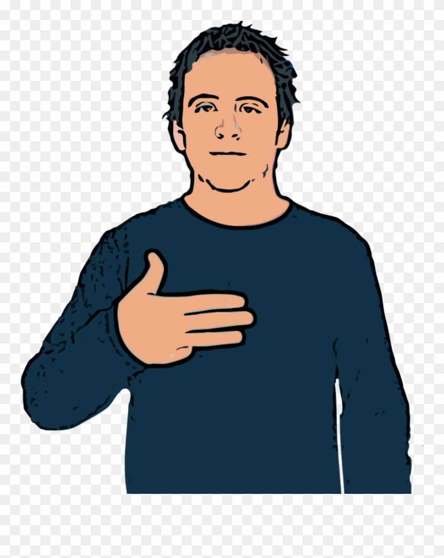 Asl clipart dictionary image free download Nine 9 British Sign Language Dictionary - Asl Thumb To Palm Clipart ... image free download