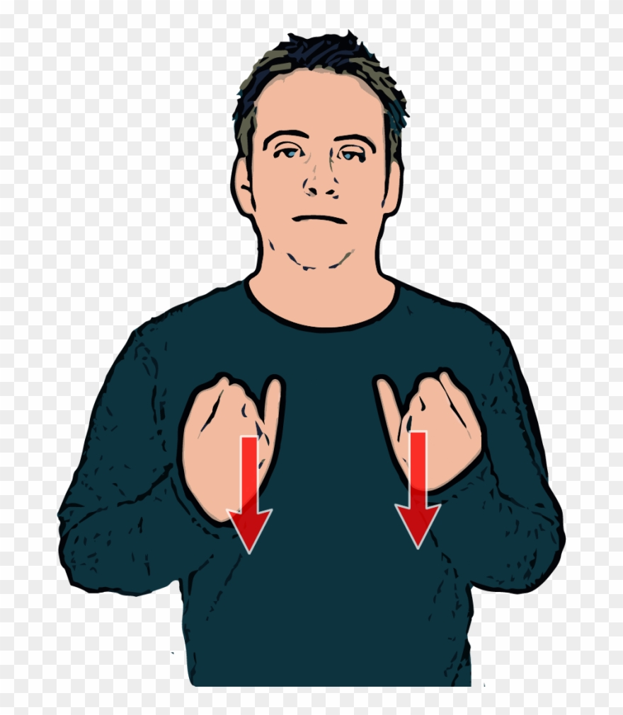 Sign language clipart dictionary banner download Sick British Sign Language Dictionary Clip Art Library - Sign ... banner download