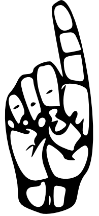 Asl d clipart banner freeuse Letter d in sign language clipart images gallery for free download ... banner freeuse