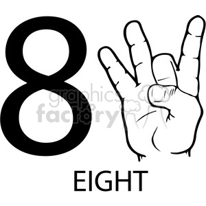 Asl for silly clipart sign banner royalty free ASL sign language 8 clipart illustration worksheet . Royalty-free clipart #  392297 banner royalty free