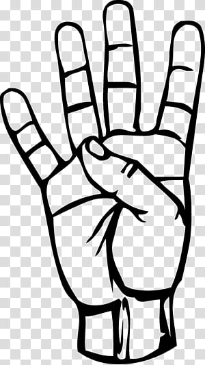 Asl for silly clipart sign graphic black and white American Sign Language Alphabet British Sign Language, asl ... graphic black and white