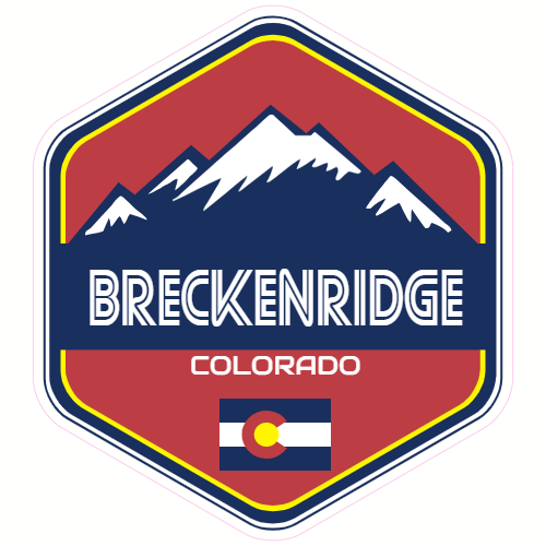 Aspen co clipart banner free download Breckenridge Colorado Mountain Sticker banner free download