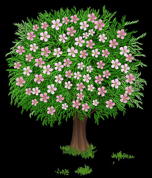 Diversity tree clipart clip art black and white Весна дерево Прозрачный PNG изображения Clipart | flores, árboles ... clip art black and white