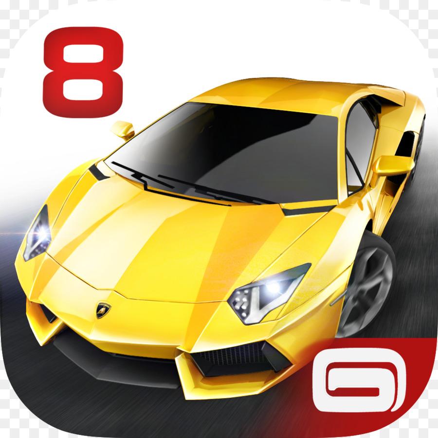 Asphalt 8 airborne clipart png black and white Asphalt 8 Airborne Lamborghini png download - 1024*1024 - Free ... png black and white