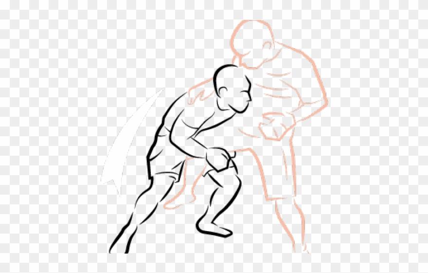 Assailant clipart vector free Mixed Martial Arts Clipart Assailant - Illustration - Png Download ... vector free