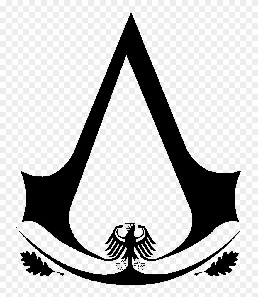 Assassin-s creed odyssey clipart banner black and white download Testass - Assassin\'s Creed Logo Jpg Clipart (#1585318) - PinClipart banner black and white download