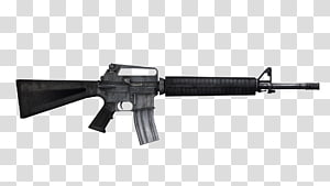 Assault rifle clipart transparent library Kalashnikov rifle, Assault Rifle Top transparent background PNG ... library