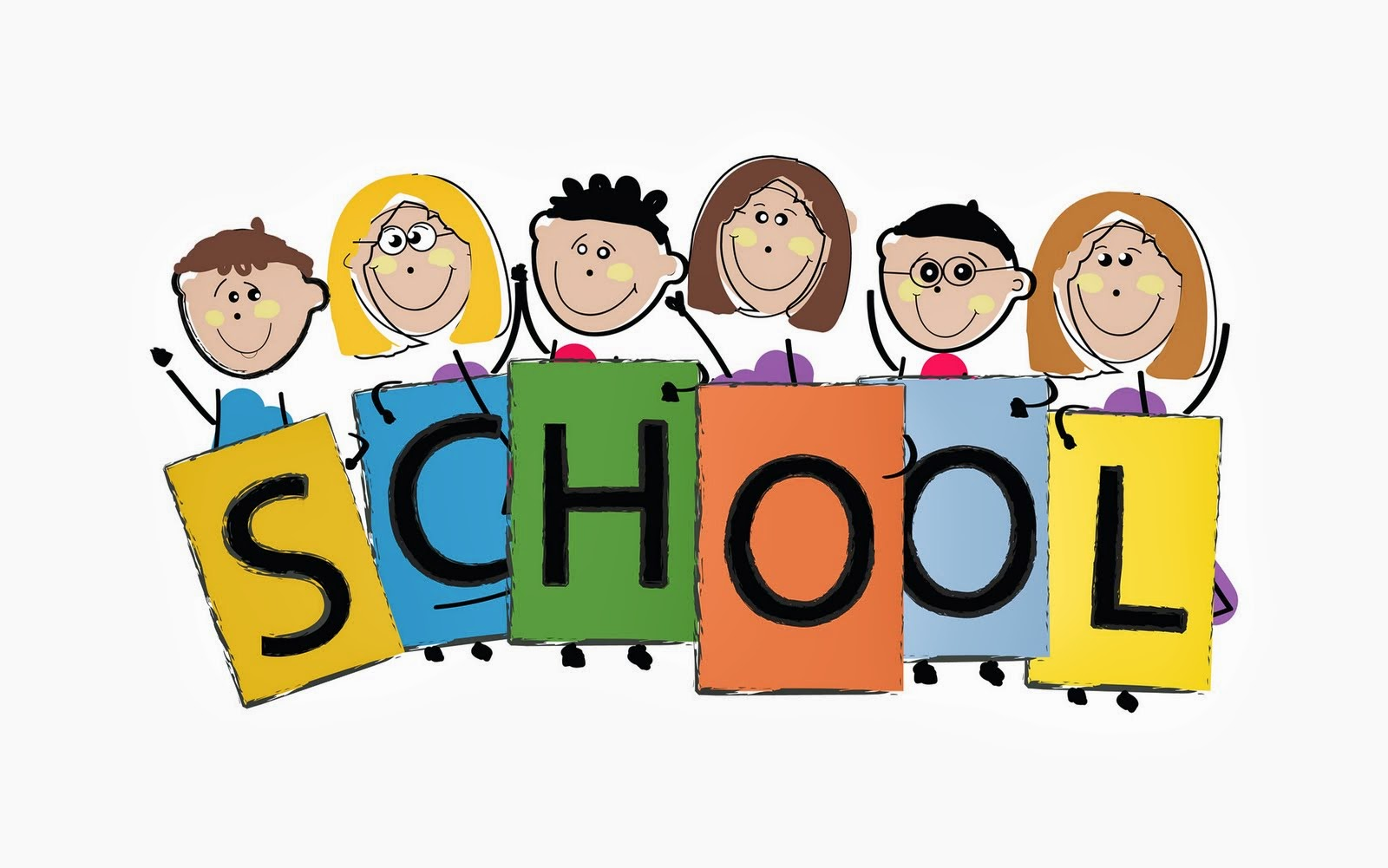 Schoolchildren clipart graphic black and white Free Assembly Cliparts, Download Free Clip Art, Free Clip Art on ... graphic black and white