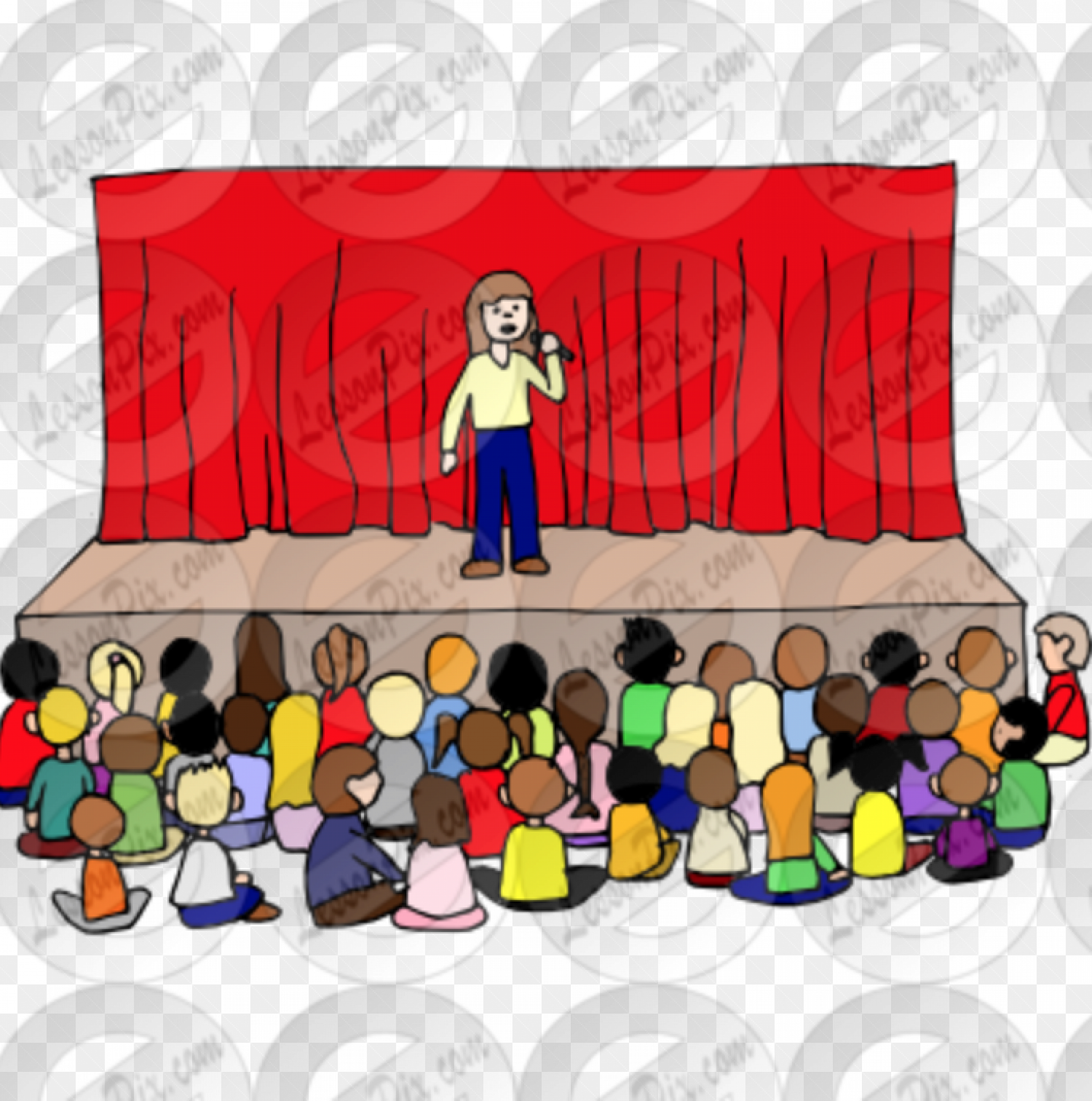Assembly kids clipart png black and white library Special assemblies next week png black and white library