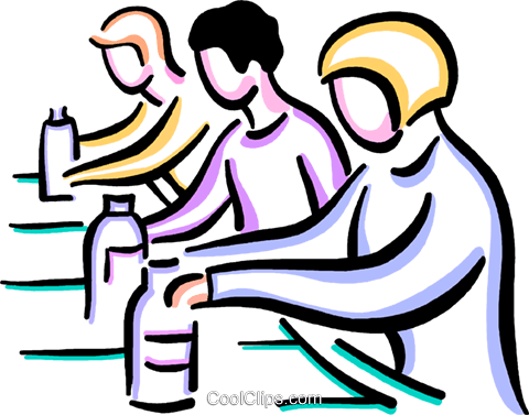 Clipart assembly line clip stock Workers on assembly line Royalty Free Vector Clip Art illustration ... clip stock