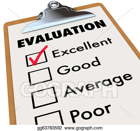 Clipart of portfolio for assessment and evaluation