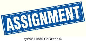 Assignment pictures clipart transparent library Assignment Clip Art - Royalty Free - GoGraph transparent library