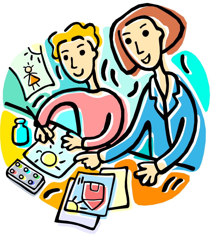 Assisting teach clipart black and white Free Teacher Student Cliparts, Download Free Clip Art, Free Clip Art ... black and white