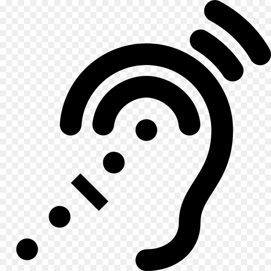 Assistive hearing device clipart