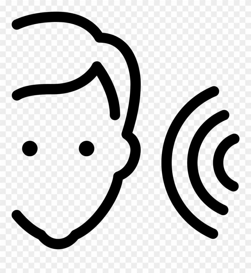 Assistive listening icon clipart graphic black and white library Listening Icon Clipart (#1730522) - PinClipart graphic black and white library