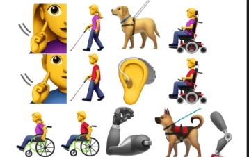 Assistive tech adaptive toys clipart graphic free New Emoji to Feature People with Disabilities — Assistive Technology ... graphic free