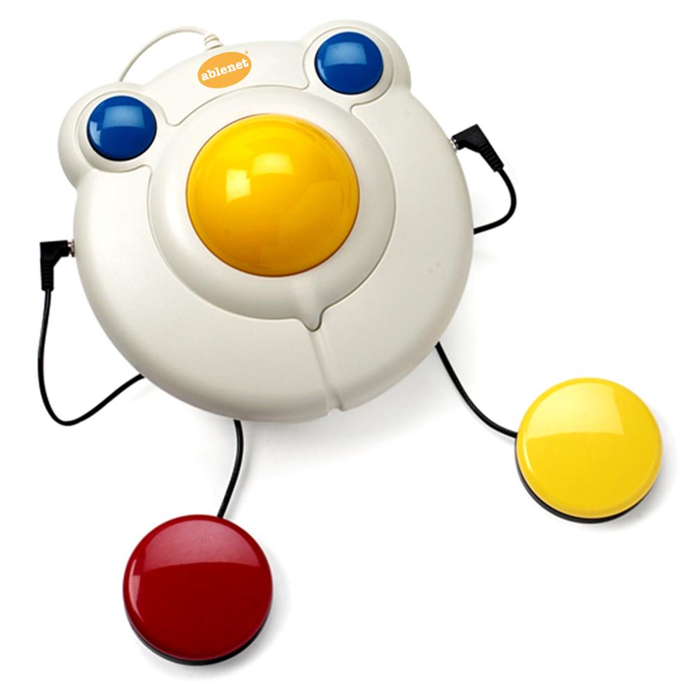 Assistive tech adaptive toys clipart image freeuse Bigtrack Ball Mouse image freeuse
